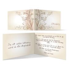 Individuelle Hochzeitseinladung Liebesbaum Einladung Hochzeit Einladungskarte