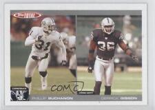 2004 Topps Total #266 Phillip Buchanon Derrick Gibson Oakland Raiders Card