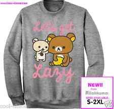 Rilakkuma Sweatshirt / Japanese, Teddy Bears LAZY TEE S-M-L-XL-2X