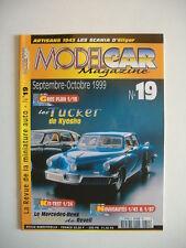 MODEL CAR MAGAZINE 19 TUCKER 1/18-CADILLAC 1949-SCANIA