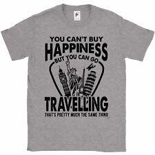 Non puoi acquistare la felicità, ma è possibile andare in viaggio da Uomo T-shirt