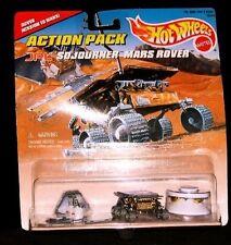 Sojourner Mars Rover Pathfinder Lander Space HOT WHEELS NASA 1996 Action Pack