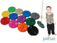 CHILDRENS GARDEN MONKEY FLOWER PLASTIC SWING SEAT FOR KIDS CLIMBING FRAME