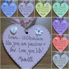 Nursery Childminder Pre School Teacher Personalised  Thank you gift plaque