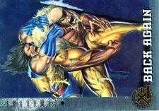X-MEN FLEER ULTRA 1995 HOLO RELIEF N°  89 BACK AGAIN -SERVAL -