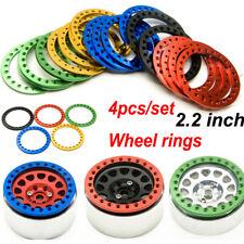 """4PCS Metal Replacement Wheel Beadlock Ring For 2.2"""" Wheel Rim 1/10 RC Crawler"""