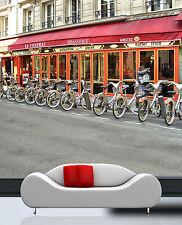 3D Bicicletta 3 Parete Murale Foto Carta da parati immagine sfondo muro stampa