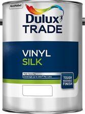 Dulux Trade Vinyl Silk Pure Brilliant White / White / Magnolia / 2.5L / 5L / 10L