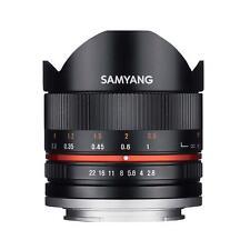 F1220310101 Samyang Obiettivo 8mm F/2.8 umc Fish-eye ii Mirrorless (fuji x Moun