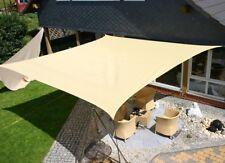 Tenda a Vela Telo Quadrato Ombreggiante per Arredo Esterno Giardino Camping