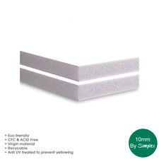 10MM White Foam Board,  A1, A0, 40 x 60, 48 x 96,  5 Sheets per pack
