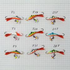 Eisangeln Eisfischen Balance Jigger Zocker Pro-10 Kunstköder 6 Gramm