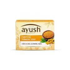 Lever Ayush Purifying Turmeric Soap with Nalpamaradi tailam 100 gram 3.5 oz