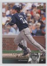 2010 Upper Deck Gold #294 Mat Gamel Milwaukee Brewers Baseball Card