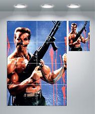Commando Arnold Schwarzenegger Vintage Movie Giant Wall Art Poster Print