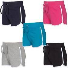 Girls / Childrens Cotton Jersey Summer Shorts ~ 2-13 Years