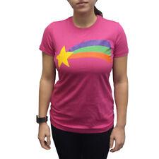 Mabel Pines Rainbow T-Shirt Gravity Falls Costume Pink Cosplay TV Cartoon