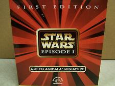 Star Wars Episode I Queen Amidala Miniature Figurine By Applause  COA