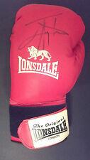 JOHNNY NELSON Signed LONSDALE BOXING GLOVE WBO World Champion  COA