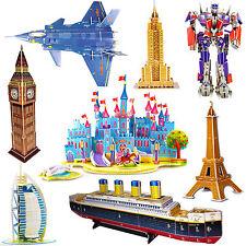 3D Puzzles Tower Bridge Jigsaw bateau pirate Frigate Puzzle 3D chambre cuisine