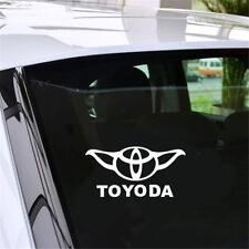 Toyoda Logo Car Window Door Bumper Auto Laptop Vinyl Decal Sticker Decor Gift