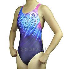 Girls Juniors Women Racing Training Bathing Swimsuit Swimwear Size 24 - 34 New