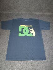 Hombre Auténtico DC Moda Informal skate bmx mx camiseta S M L XL XXL azul DC52