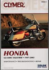 1997-2003 CLYMER HONDA MOTORCYCLE GL1500C VALKYRIE SERVICE MANUAL NEW  M462-2
