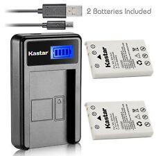 EN-EL5 Battery & LCD USB Charger for Nikon Coolpix P520 P530 P5000 P5100 P6000