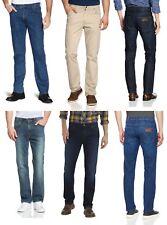 Wrangler Jeans Hombre Denim & Suave Pantalones - End Of Línea Liquidación