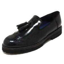 4263P mocassino uomo UNO 8 UNO blu oceano shoe men dark blue
