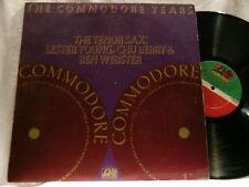 TENOR SAX Lester Young Chu Berry Ben Webster 2 LP