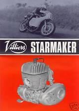%% Villiers Starmaker folleto 1967 Engl. 2t-rennmotor