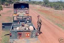 Rhodesian Territorial Soldiers COLOR Photo RLI