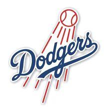 Dodgers Los Angeles Decal / Sticker Die cut