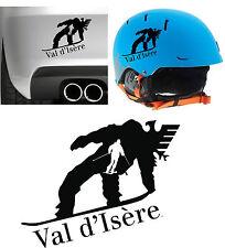 Sticker - VAL D´ISÈRE - Vinyl -Pegatina- Autocollant -Ski Park Desing- aufkleber