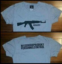 NITZER EBB Rare Women's Behave TShirt Shirt Tour EBM Industrial Nine Inch Nails