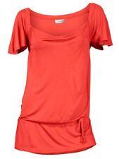 Heine Donna Cascata-camicia Riuniti Tunica Camicetta Viscosa arancione 024563