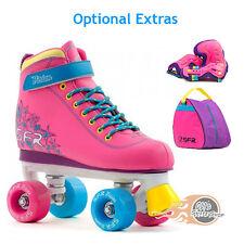 SFR Quad Roller Skates Vision II Tropical - Optional Bag & Safety Pad Set