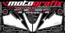 Yamaha YZF R1 2000 - 2001 Front Fairing Number Board Motografix 3D Gel Protector