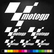 Moto GP 6 Stickers Autocollants Adhésifs Moto Auto Voiture Sponsor Marques