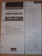 Sansui Service/Repair Manual~Au-G55X/G33X Amplifier Amp