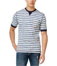 Weatherproof Mens Vintage Contrast Basic T-Shirt