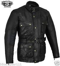 Belstaff Inspired Finest Top Grain Leather Vintage LEATHER Motorcycle Jacket
