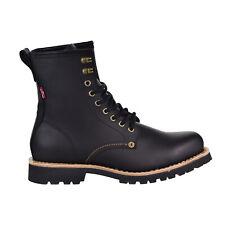 Levis Baxter Leather Men's Shoes Black 516995-01A
