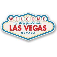 2 X las Vegas Pegatina de vinilo Laptop Equipaje de Viaje #4349