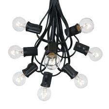 100 Foot G30 Outdoor Globe Patio String Lights - Set of 125 G30 Globe Bulbs