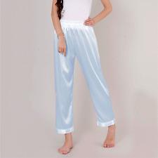 femme satin pyjama bas sommeil Pantalon pyjama pantalon de détente sous-vêtement
