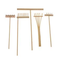 1pc/1 Set Bamboo Rake Meditation Accessory for Feng Shui Zen Garden Sand Decor