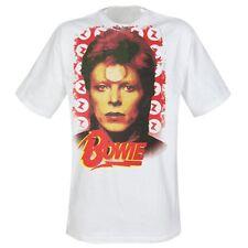 Rare Unworn Authentic Official DAVID BOWIE Portrait Rock Star ViP T-Shirt size L